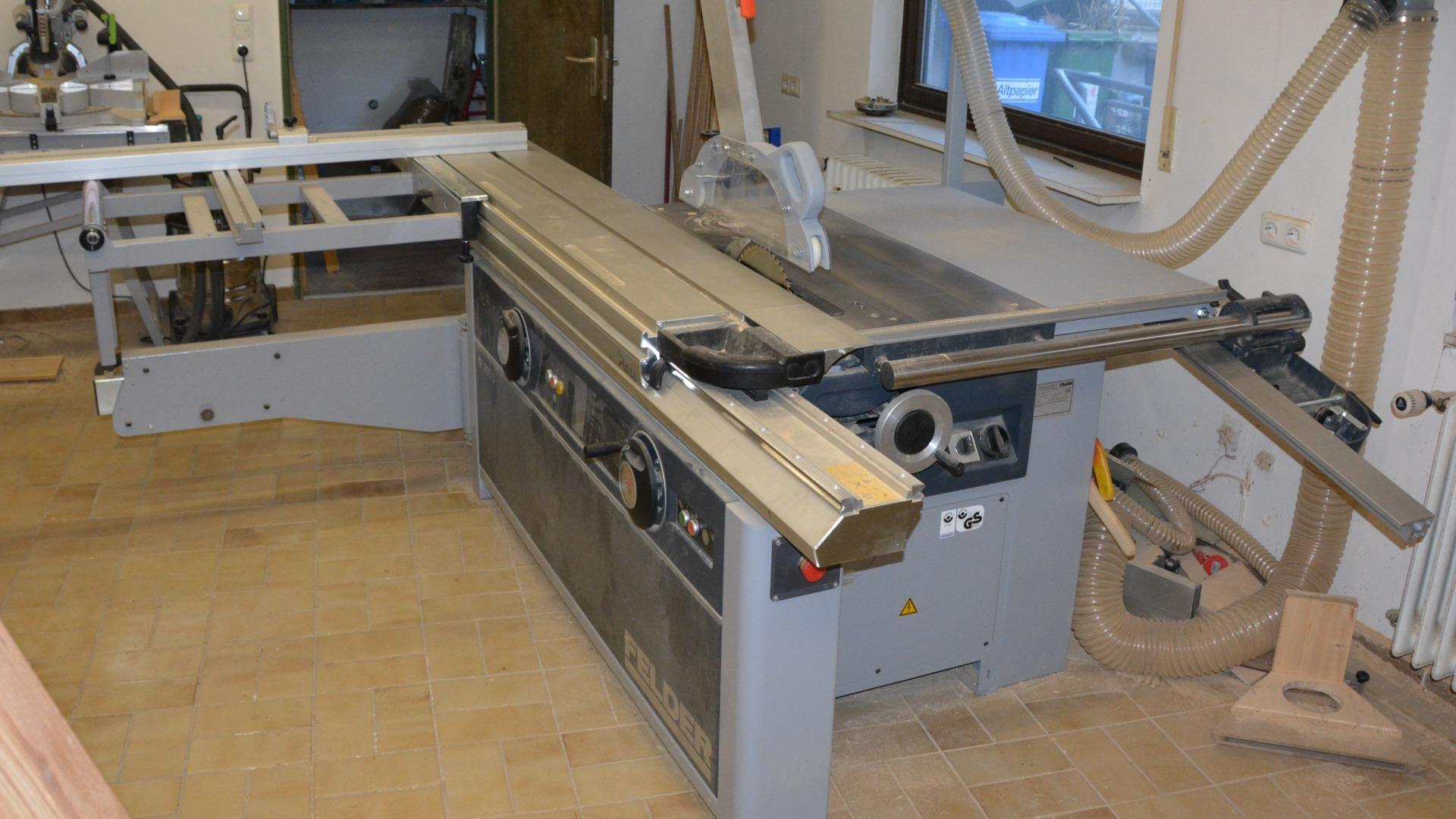 Felder Kf700 Tablesaw And Shaper Way Of Wood